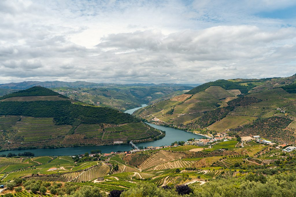 Miradouro de Casal de Loivos is one of our favorite viewpoints in the Douro Valley