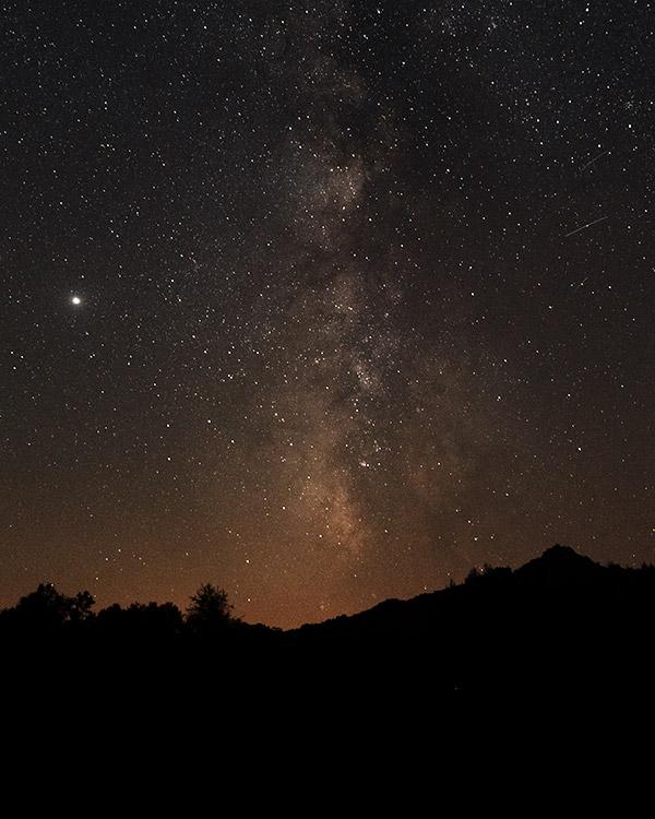 Milky Way in Castro do Laboreiro