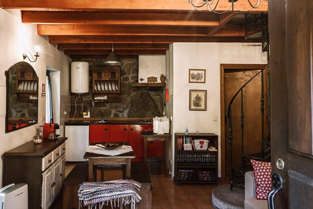 Interior of our apartment at Moinhos do Poço Verde